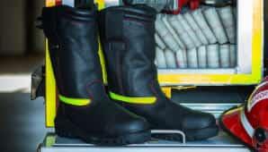 botas para bombero