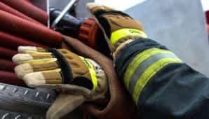 guantes para bombero
